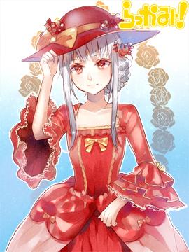 【ドレス】赤